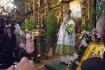 Patriarch Kyrill of All Russia gives a sermon